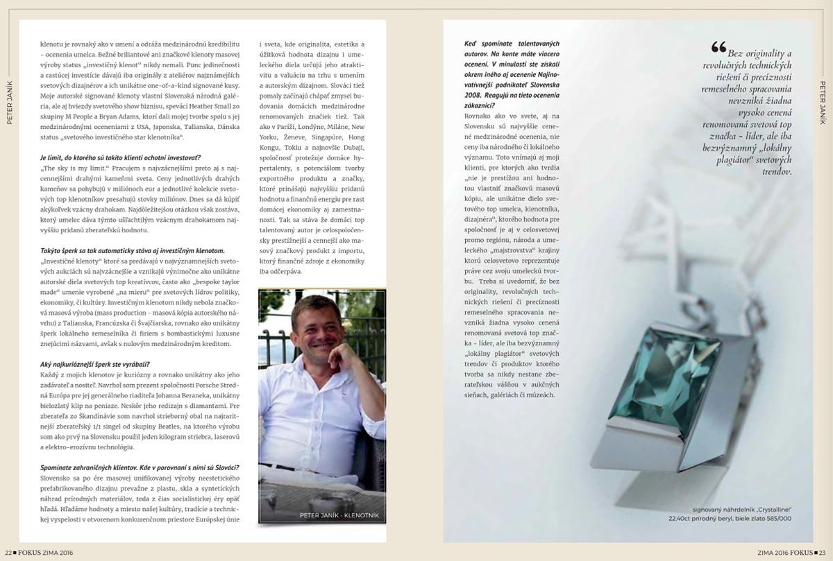 Peter Jank Bionic Vision Jewelry Studio